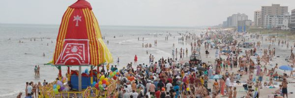 Jacksonville Beach Rathayatra Saturday, August 15th, 2015